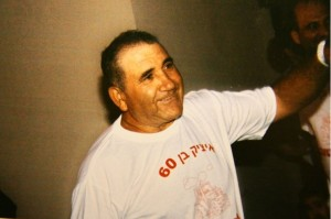 Yitzhak Algabry, murdered in his back yard in Moshav Avihayil in October 2012. (courtesy)