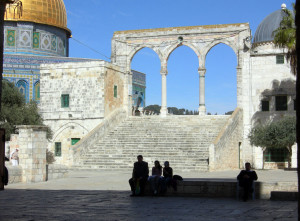The Temple Mount. (Wikipedia Commons)
