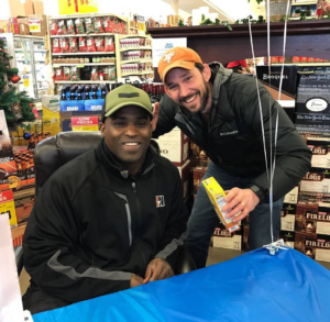 "After the end of the dismal 2016 season, the author met Ricky Williams at the HEB on Burnet. The legend signed a box of ptitim (""Israeli couscous"") for the author's daughters."