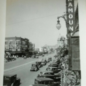 Pic of really old Austin taken by my grandfather in 1936. You can just make out a person who moved there in the 20s complaining about how much cooler the town used to be.