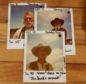 7cdc222223330 Polaroids from the set of the Lonesome Dove miniseries. (Courtesy  Noah  Abdenour family archives)